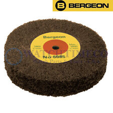 Bergeon 6085-E3 Satin Finishing Polishing Brush Wheel (Very Fine Grain)