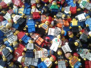 LEGO Mini figures Genuine Bundle Mixed Characters Job Lot Bulk (Choose your QTY)