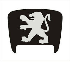 Peugeot 306 back door sticker for repair damaged emblem