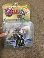 Toy Biz Nintendo Video Game Superstars Ocarina Legend of Zelda & Impa Figures