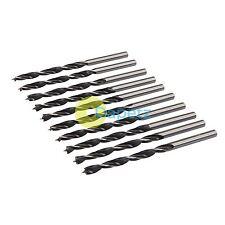 10Pk lip & spur forets 4mm durable sharp semoir de précision travaux sur bois bricolage