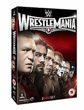 WWE - WrestleMania 31 XXXI (DVD, 2015, 3-Disc Set) New  Region 4