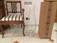 "IVV VASO ""SINGAPORE"" pezzo unico vetro ottico"