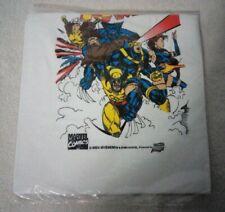 Vintage 90's Comic Images White X-Men T-Shirt Kids' Size Large Unopened Original