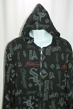 Chicago White Sox Budweiser One Piece Hoodie Pajama Suit Men Size Extra Large XL