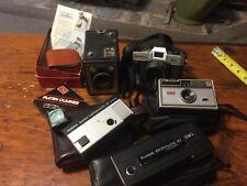 Vintage Lot of Cameras Lenses misc Camera Equipment