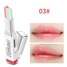 Pro Two Tone Tint Lip Bar Lipstick Moisturizing Gradient Color V-shape Lipstick- 3#