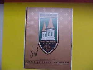 2006 Breeders Cup  Program Signed By Calvin borel.New RARE