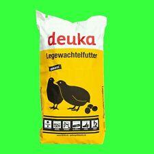 Top GS Legewachtelfutter Deuka 25 kg Wachtelfutter Wachtellegekorn 2 mm Pellets