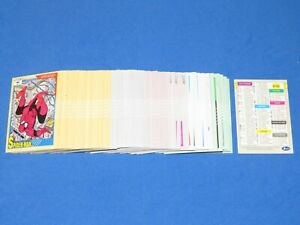 1991 MARVEL UNIVERSE SERIES 2 COMPLETE 162 CARD SET IMPEL SPIDER-MAN! AVENGERS