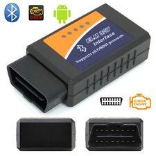 Mini OLMO 327 Bluetooth V1.5 OBDII OBD2 escáner de diagnóstico del coche de CD