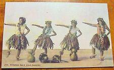 1910's Native Hawaiian Hula Hula Dancers PMC #246