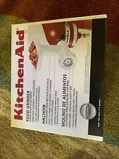 KitchenAid Food Grinder Stand Mixer Attachment Accessory NEW BOX 0050946000176