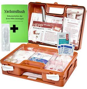 Erste-Hilfe-Koffer M1 PLUS für Betriebe DIN EN 13157 incl. Verbandbuch