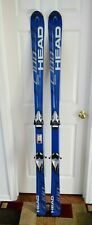 HEAD C 100 SKIS SIZE 177 CM WITH TYROLIA BINDINGS
