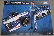 2018 Graham Rahal United Rentals Honda Dallara Indy Car postcard