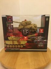 New LASER FORCE LF RC ASSAULT TANK Remote Control Multi-Player Battling Sealed