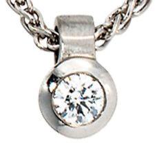 Runde Echtschmuck-Halsketten & -Anhänger mit Diamant-gemischten-Themen