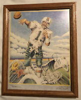 Dan Marino Signed Autographed Limited Edition Lithograph Framed 11x14