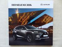 Lexus NX 300h E-Four F Sport - Prospekt Brochure 07.2014