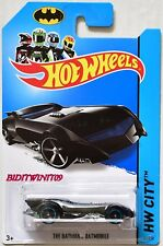 HOT WHEELS 2014 HW CITY - BATMAN THE BATMAN BATMOBILE