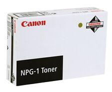 TONER CANON NPG-1 NUOVO 1372A005AA NERO  ORIGINALE Conf. 4 pezzi