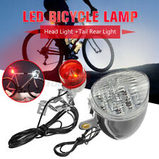 Bike Bicycle Cycling Warn Red LED Rear Light 3 modes Waterproof Safety Tail Lamp