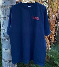 VINTAGE 1998 PRIMARY COLORS MOVIE PROMO T SHIRT XL USA JOHN TRAVOLTA CLINTON 90s