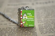 How The Grinch Stole Christmas  Book Photo Locket NEW