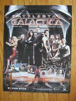 Promo Sell Sheet - Battlestar Galactica Season One 1 - 2006 Rittenhouse       ZZ