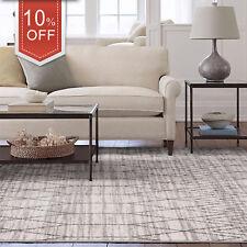 Floor Rug Grey Beige Geometric Morrocan Diamond Neutral Modern Carpet 160x230cm