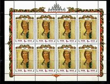 Russia USSR Art, Christianity, The Savior By Andrey Rublev. Mini Sheet of 8, MNH