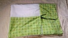 Carter's Just One Year Nursery Crib Skirt Blue White With Stars Baby Boy
