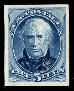 Taylor United States Proof on card mint no gum