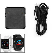 Charging Cable USB Charger Smart Watch Cradle Dock Stand For Garmin Vivoactive