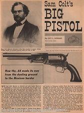 Sam Colt Big Pistol Texas Ranger Walker 44+Family - Aurand, Hays, Houston, Polk
