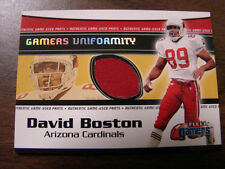 2000 Fleer Gamers David Boston Jersey Card (B38) Arizona Cardinals