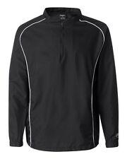 Rawlings Men's S-4XL, 5XL Long Sleeve Zip or Pullover Baseball Wind Shirt Jacket