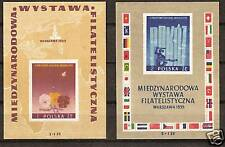 POLAND # B104-105 MNH Philatelic Exhibition