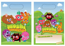 MOSHI MONSTER PARTY / LOOT BAGS NEW SEALED PACK OF 8