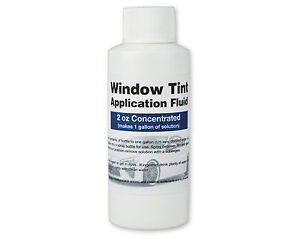 Window Tint Application Fluid / Slip Solution for Installing Precut Window Tint