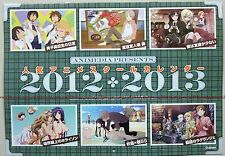 inu boku Ao no blue Exorcist Fate/zero Guilty Crown etc anime calendar 2012-13
