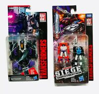 Transformers Generations Lot of 2 Skywarp Red Heat Stakeout Combiner Wars