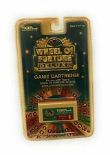 Wheel Of Fortune Cartridge Deluxe #1 by Tiger Electronics 1999