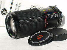 CPC PHASE 2 CCT 75-200mm F 4.5 lens for MINOLTA MD mount cameras w Manual MACRO