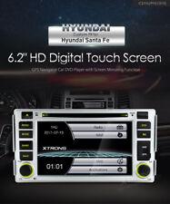 AUTORADIO HYUNDAI SANTA FE NAVIGATORE GPS DVD USB SD DVX MP3 BLUETOOTH XTRONS