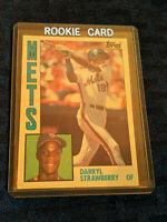 1984 Darryl Strawberry 182 Topps Rookie Baseball Card MLB