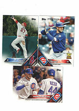 2016 Topps Complete Hand Collated Set 1-701