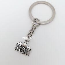 2pcs Mini Creative Key Chain Ring Keyring Metal Keychain Gift Tool camera