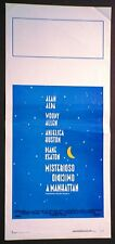 Locandina MISTERIOSO OMICIDIO A MANHATTAN 1993 ALLEN KEATON HUSTON ALDA